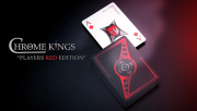 Chrome Kings Limited Edition Playing Cards (Players Red Edition) by De'vo vom Schattenreich and Handlordz