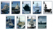 Modern Warships Playing Cards
