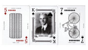 Limited Edition Art of the Patent (Vehicle) Playing Cards
