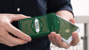 Green VISA Playing Cards by Patrick Kun and Alex Pandrea