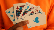 Pastels Blue Limited Edition Playing Cards