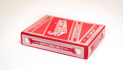 Superior Skull & Bones V2 (Red/Silver) Playing Cards by Expert Playing Card Co.
