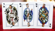 Ancient Warriors (Red) Playing Cards