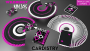Cardistry Ninja Wildberry by De\\\'vo vom Schattenreich and Handlordz