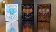 Limited Edition Elephant Playing Cards (Night)