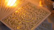 Regalia White Gold Luxury Playing Cards