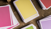 Steel Playing Cards (Yellow) by Bocopo