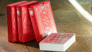Pinocchio Vermilion Playing Cards (Red) by PassioneTeam