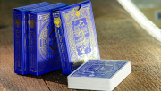 Pinocchio Sapphire Playing Cards (Blue) by PassioneTeam