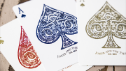 Blood Red Edition Playing Cards by Joker and the Thief