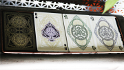 Limited Numbered Gilded Edition Black Magic Playing Cards