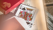 Limited Edition Scarlet Philtre Playing Cards by Riffle Shuffle