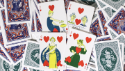 Limited Edition Ye Witches\\\' Fortune Cards (2 Way Back Green Box)
