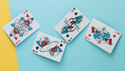 Surfboard Playing Cards by Riffle Shuffle