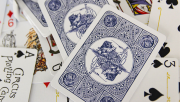 Circus No. 47 (Blue) Playing Cards