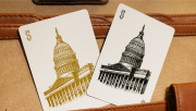 Bicycle Capitol Playing Cards by US Playing Card