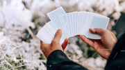 Winter NOC Glacier Ice (Blue) Playing Cards