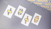 Bicycle Pixel (Dog) Playing Cards by TCC