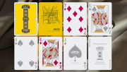 Gemini Casino Yellow Playing Cards by Gemini