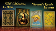Bicycle Limited Edition Vincents Royals 2nd Edition Playing Cards