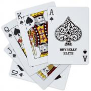 Brybelly Elite Medusa Back Casino- (Gold) Playing Cards