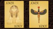 Pharaoh Playing Cards By Collectable Playing Cards - (Out Of Print)