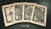 Bicycle Branded Federal 52 Playing Cards by Jackson Robinson - (Out Of Print)
