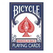 Bicycle Playing Cards 809 Mandolin Back (Blue) by USPCC