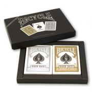 Cards Bicycle Gold And Silver Back Set