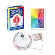 Bicycle Poker Deck (RAINBOW Back) by Di Fatta and USPCC