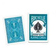 Cards Bicycle Turquoise Back USPCC