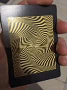 Royal Vortex Gold Foil Playing Cards