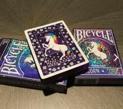 Bicycle Limited Edition Unicorn Rainbow Gilded Playing Cards