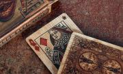 Bicycle Wood Rider Back Playing Cards by Max