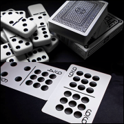 Bicycle Double Nine Domino Cards by USPCC