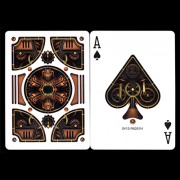 Bicycle Steampunk Bronze Playing Cards by USPCC