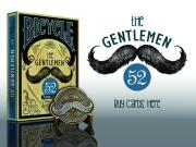 Bicycle The Gentlemen 52 Playing Cards