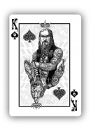 Bicycle Zombie Riders Playing Cards