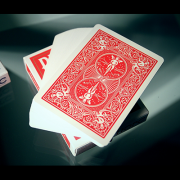 Lefty Deck (Red) by House of Playing Cards