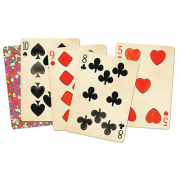 Limited Edition Black Hotcakes Playing Cards by Uusi Corporation