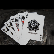 Cherry casino black playing cards