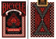 Bicycle Royal Scarlet Playing Cards by Collectable Playing Cards (1000 Deck Club)
