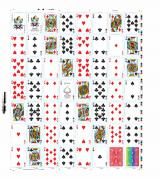 Un-Cut Sheet Genuine Uncut Spectrum Deck Sheet