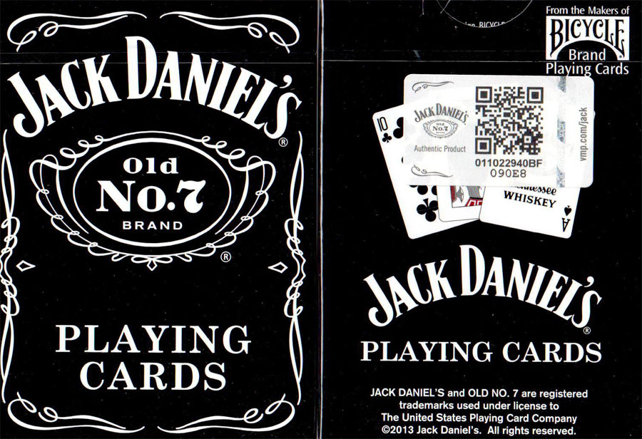 Jack Daniel\\\'s Playing Cards