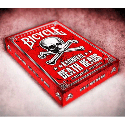 Karnival Death Heads Deck (Carnage Edition) by Big Blind Media