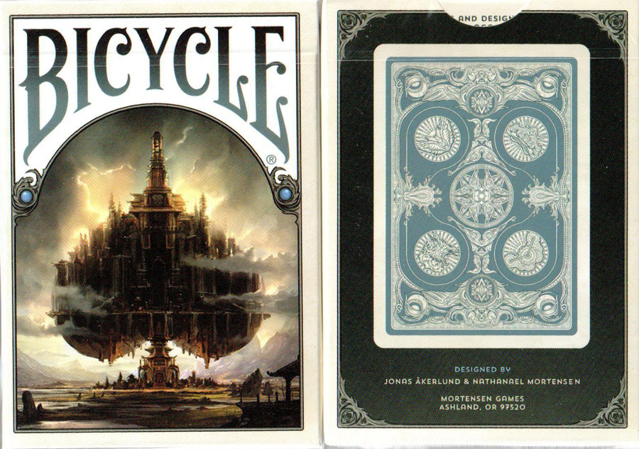 Bicycle Kingdoms of a New World (Blue)