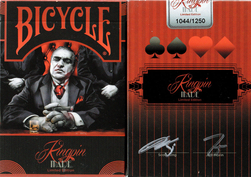 Bicycle Kingpin Made Playing Cards