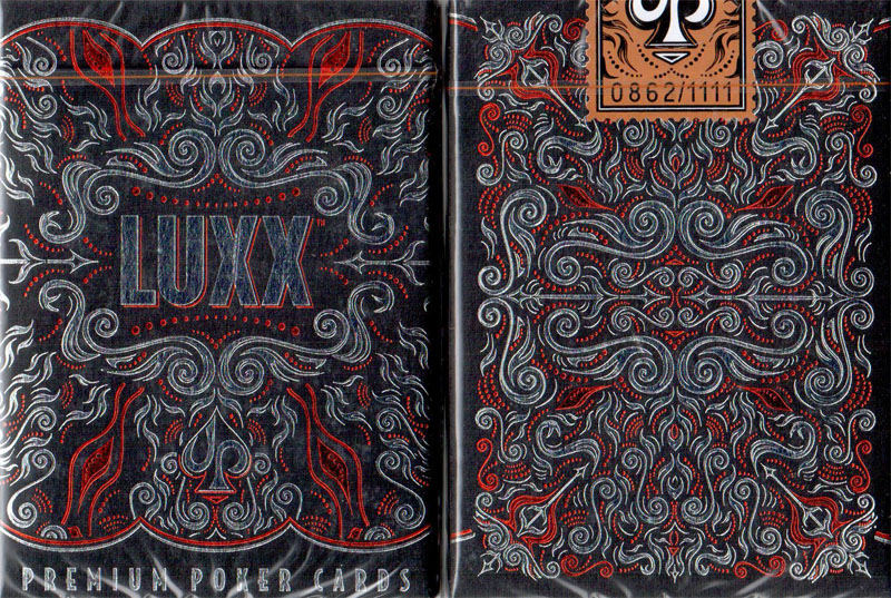 First Edition LUXX Playing Cards (Orange)
