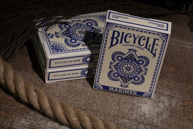 Bicycle Mariner Blue Playing Cards