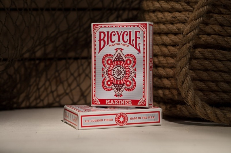 Bicycle Mariner Red Playing Cards